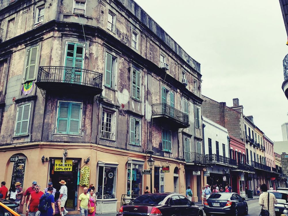 Architecture Building Exterior Outdoors City People New Orleans New Orleans, LA eyeemnewhere