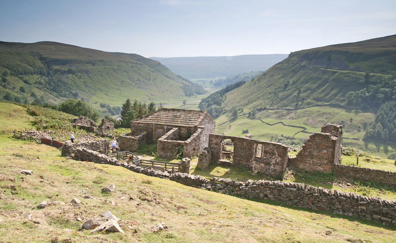 Historic Building Keld Muker National Park North Yorkshire Ruin Swaledale Walk Yorkshire Dales