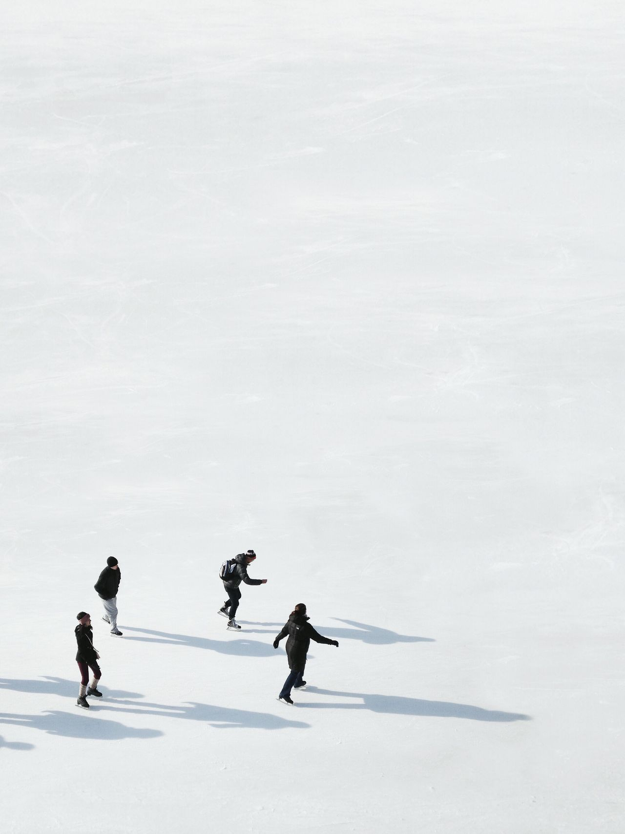 Winter snow cold temperature real people leisure activity Nature full length lifestyles Frozen outdoors men day Winter sport Ice-skating ice skate Ice rink ice hockey stick beauty in Nature