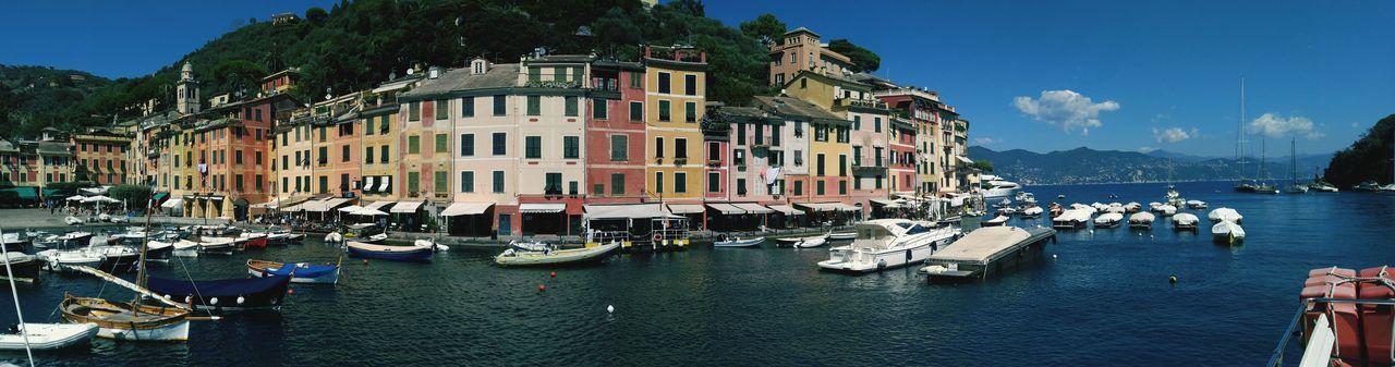 Portofino Italian Riviera Mediterranean Sea