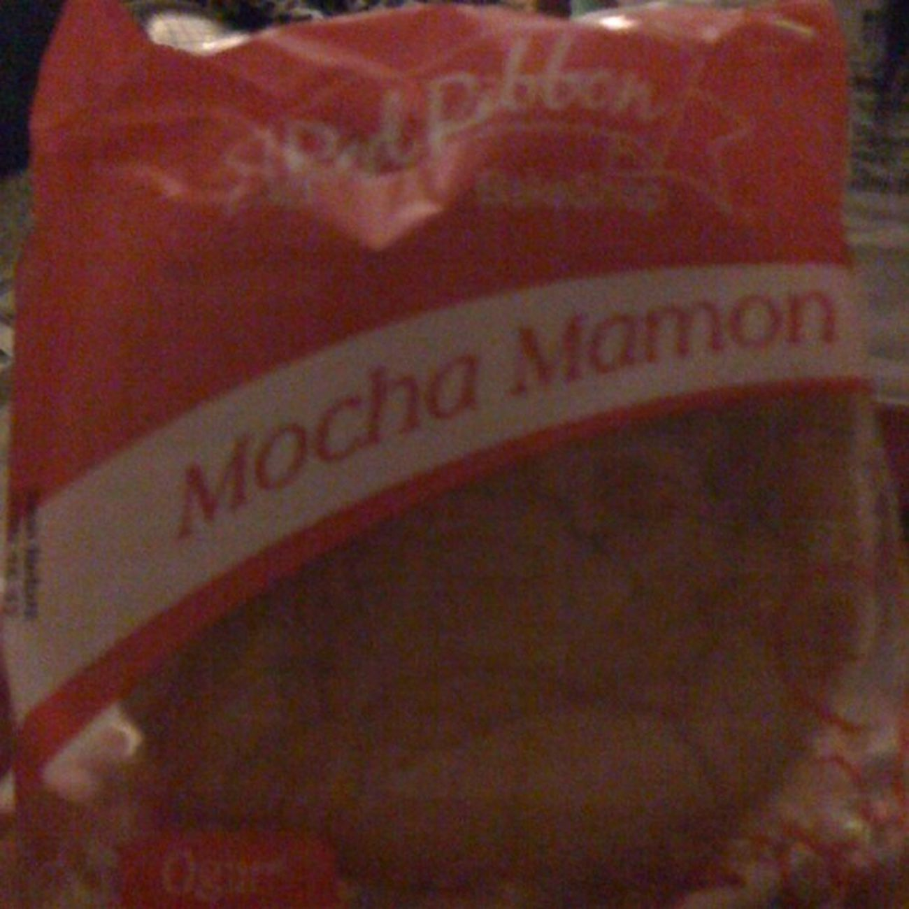 Late night snack! Redribbon Mocha Mamon