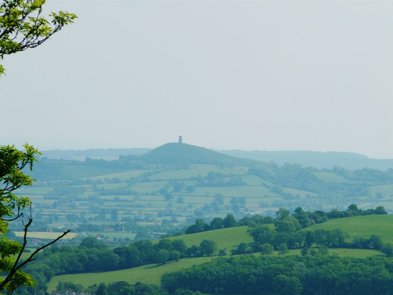 Mendip Hills Nature On Your Doorstep Landscape Nature Photography [ Nature Looking Towards Glastonbury Relaxing Taking Photos Landscapes Natures Diversities