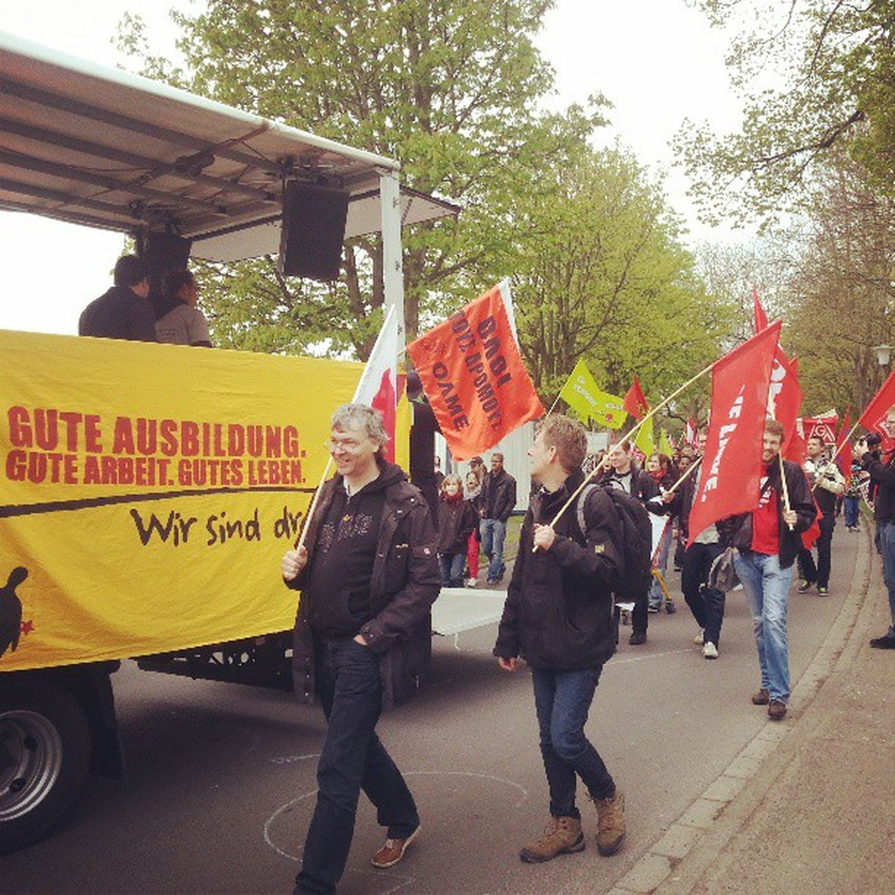 1. Mai Demonstration in Kassel