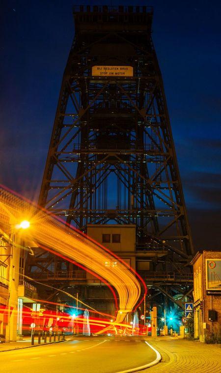 Willebroek Bridge Night Lights Nightphotography Long Exposure