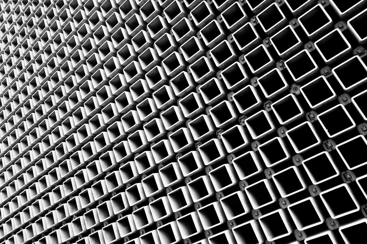 Abstract Backgrounds Blackandwhite Façade Geometry Neatly Arranged Pattern Repetition The Architect - 2017 EyeEm Awards