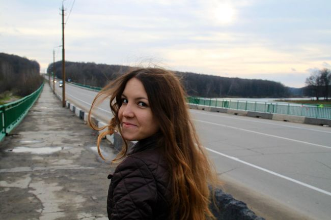 Black Eyes Brown Eyes Casual Clothing Girl Hair Leisure Activity Let Your Hair Down Lifestyles Long Hair Looking At Camera Outdoors Portrait Road Road Trip Roadtrip Russia The Way Forward Travel Traveling Travelling Wind In My Hair Young Women