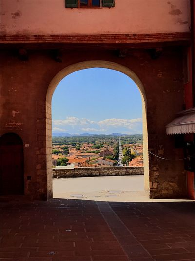 Streetphotography Landscape Architecture Day Sky Toscana Castiglione Del Lago Nice Day Door Been There.