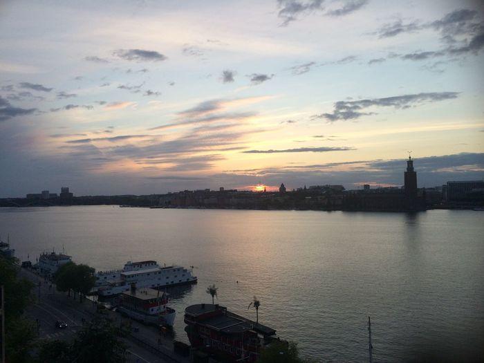 Soaking Up The Sun Walking Around People Watching Relaxing in Stockholm View Sverige Sweden Statshuset Swedish