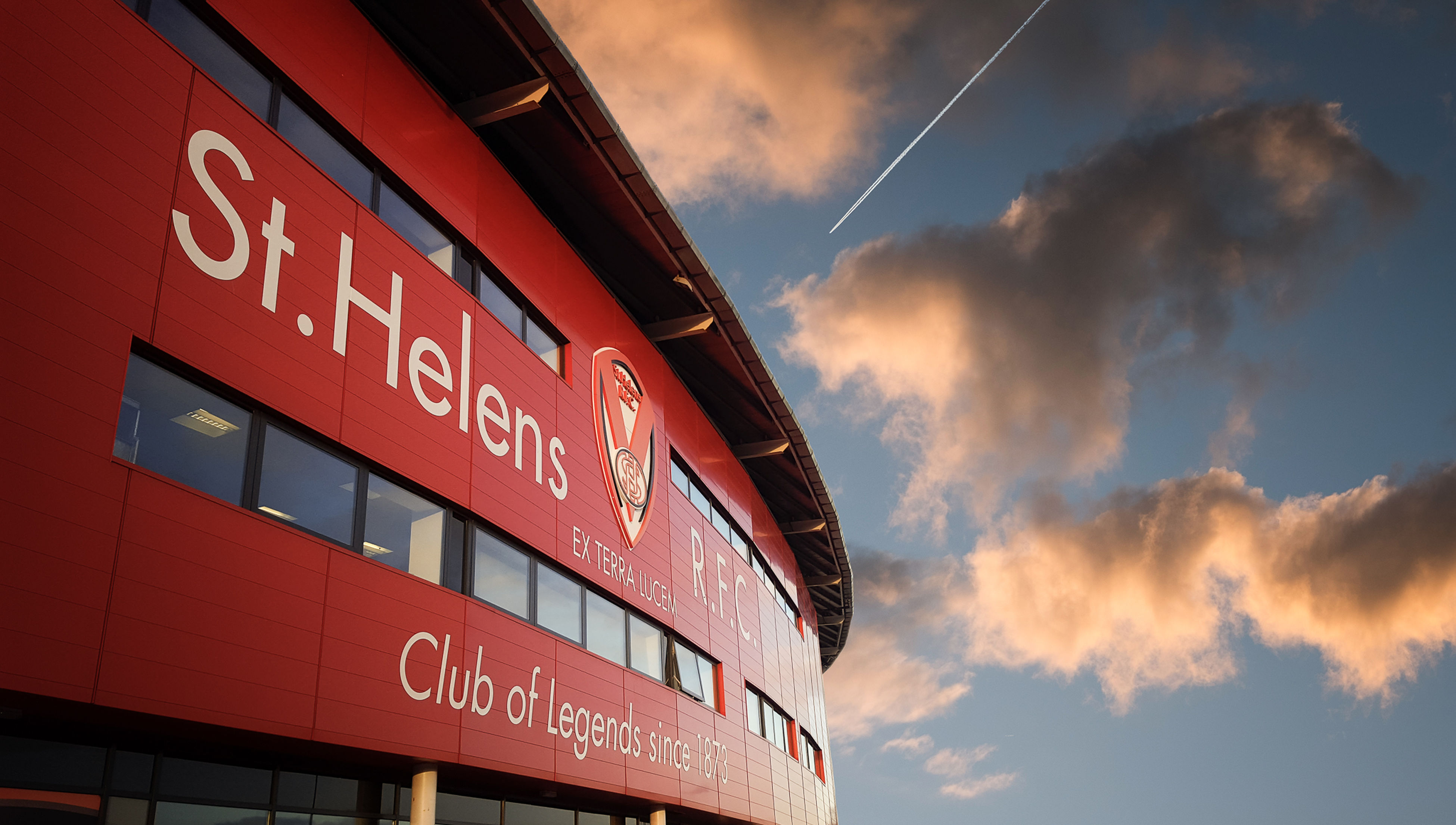 Cloud - Sky Communication Day No People Outdoors Red Rugby Rugby League Sky St Helens R.F.C Text