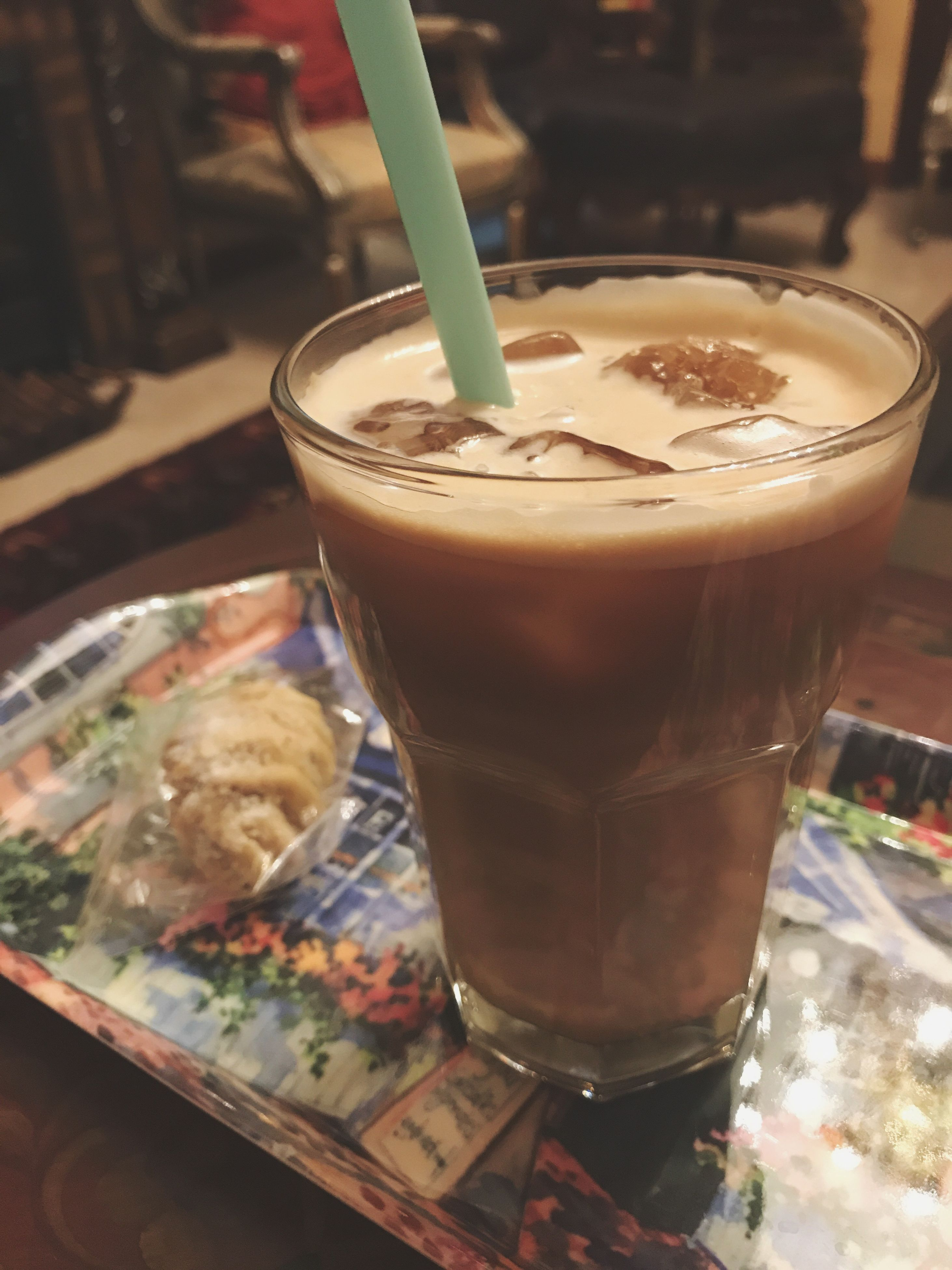 drink, coffee - drink, food and drink, refreshment, freshness, drinking straw, drinking glass, indoors, iced coffee, no people, milk, table, milkshake, healthy eating, food, close-up, frothy drink, day, ready-to-eat