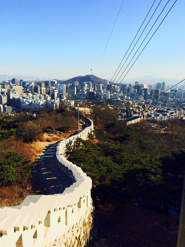 Fortress Inwangsan Cityscapes Urban Landscape Landscape Lotti On Tour