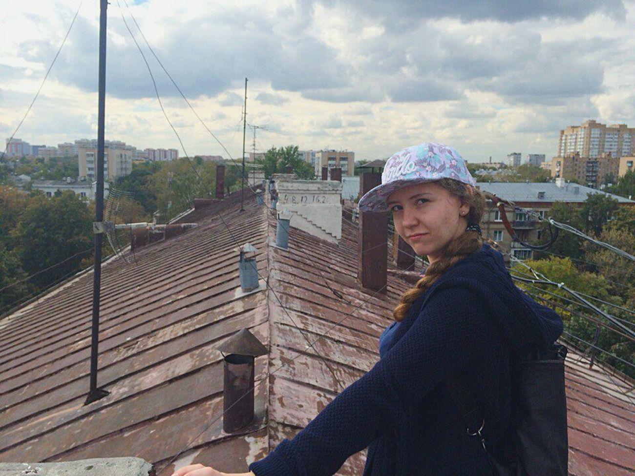 крыша крыша_дома Крыша москва пятиэтажка не высоко вверх ё-моё руферы