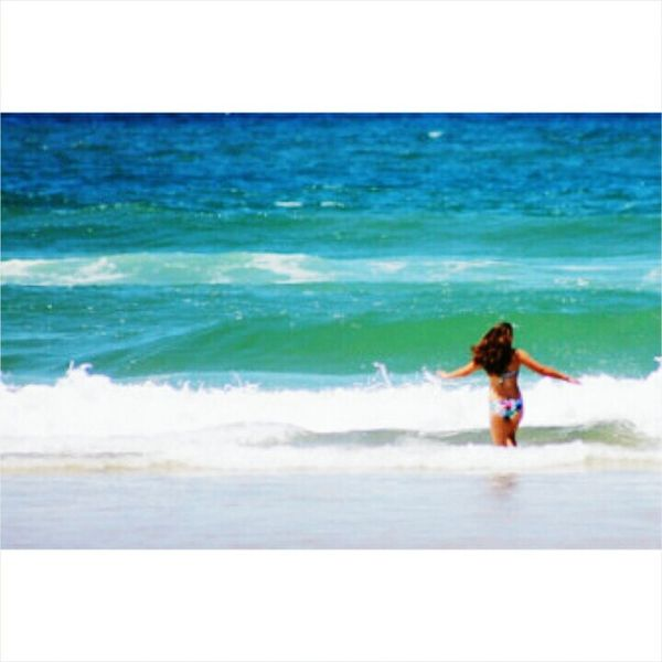 Port Alfred South Africa Ocean Waves Blue Bikini Enjoying Life Summertime First Eyeem Photo Throwback