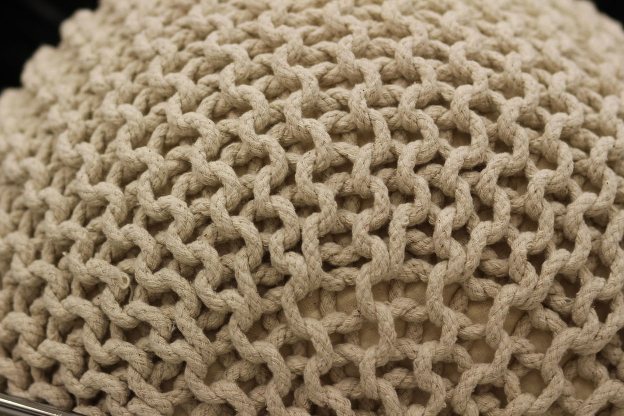 Alignement Cream Colour Interesting Texture Roundness Shapes And Forms What Could It Be?? Woven Pattern