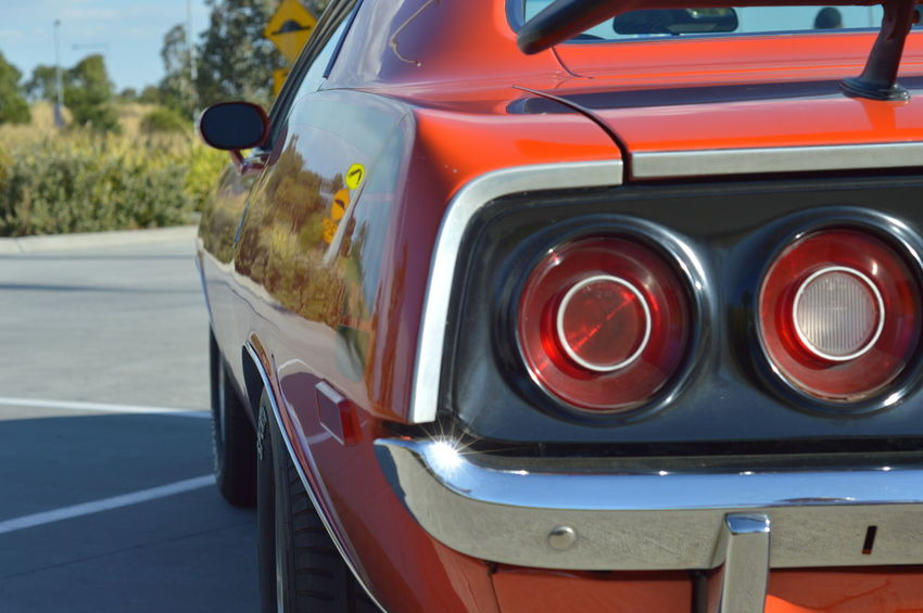 Car Close Up Custom Muscle Cars Outdoors Plymouth Road V8