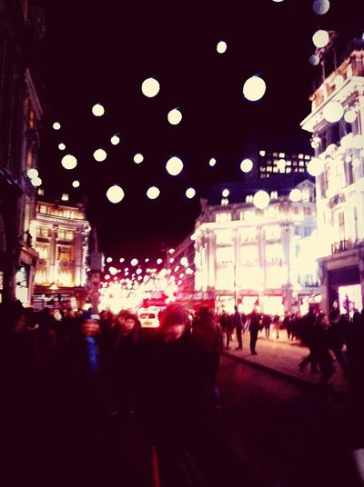Oxford St London Christmas Lights