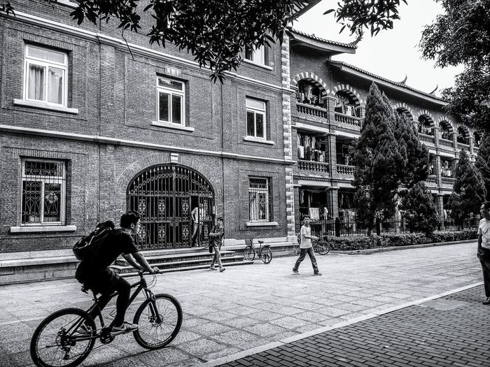 Campus Campus Life On Campus At University Black And White Bkackandwhite Black And White Photography Black And White Collection  Bnw Photography Bnw_architecture Dormitory Dorm