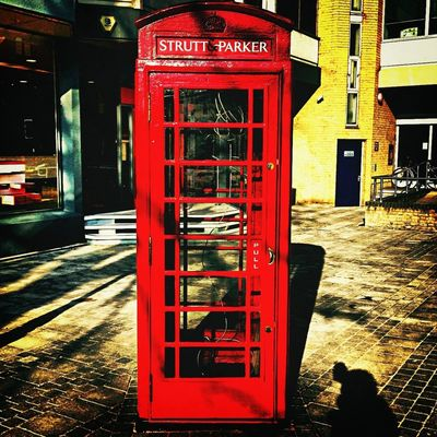Telephone Box in Cambridge by Julian Fuller