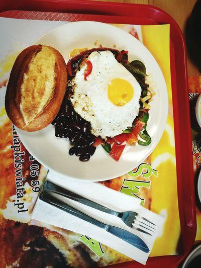 Chorizo Egg Breakfast Black Bean