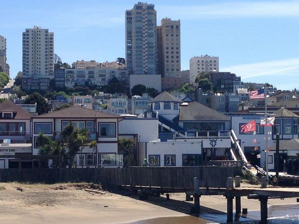 How Do We Build The World? San Francisco Buildings Buildings & Sky Houses Check This Out Memories Travel Photography Nice Memories..