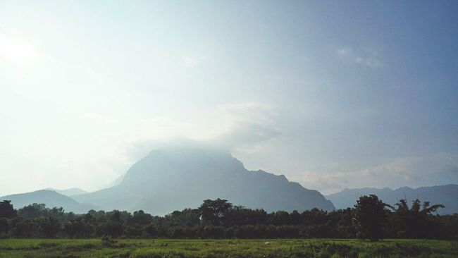 Chiang Dao Tranquil Scene Mountain Scenics Landscape Tranquility Beauty In Nature Nature Sky Mountain Range Non-urban Scene Field Growth Majestic Outdoors Cloud - Sky Remote Day Solitude Green Color Rural Scene