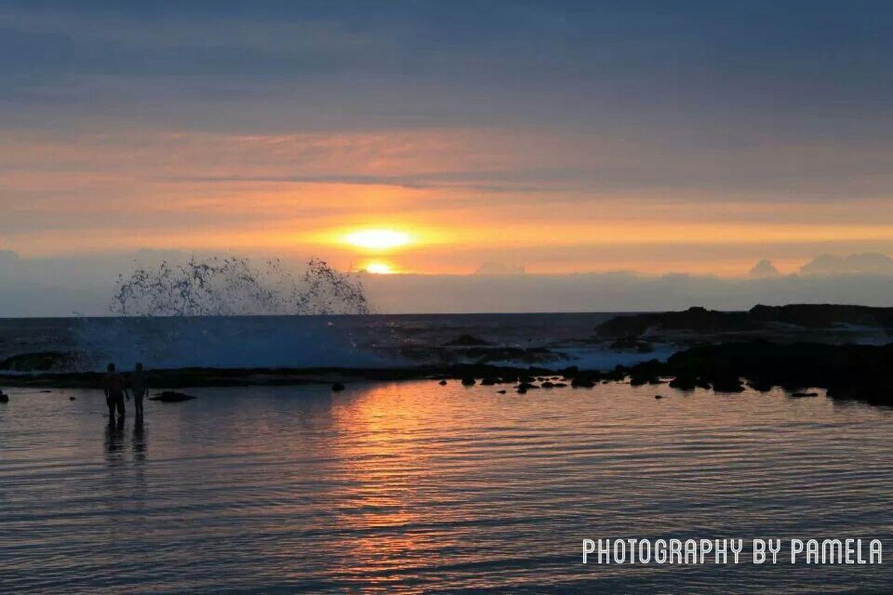 Beautiful Hawaiian Sunset Lucky We Live Hawaii Hawaii⍥⃝ Nature