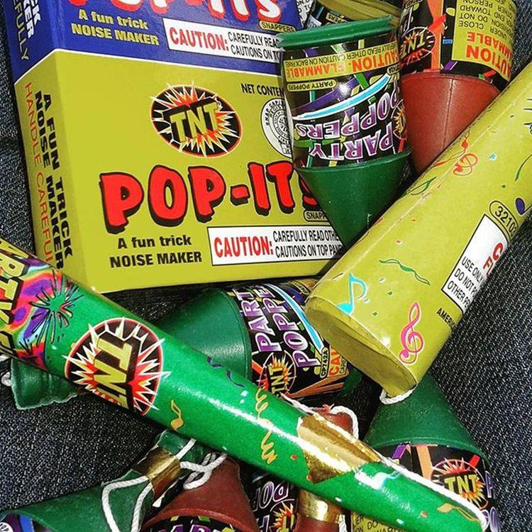 4thofjulyweekend Safeandsanefireworks Kidsfireworks 4th Of July Pop PopIt Poppers Partypoppers Tnt