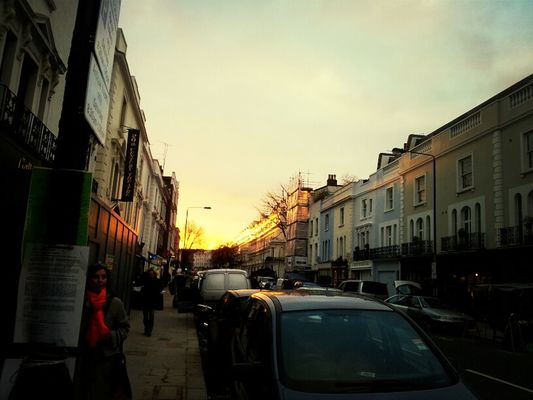 sunset at Notting Hill by Neicia