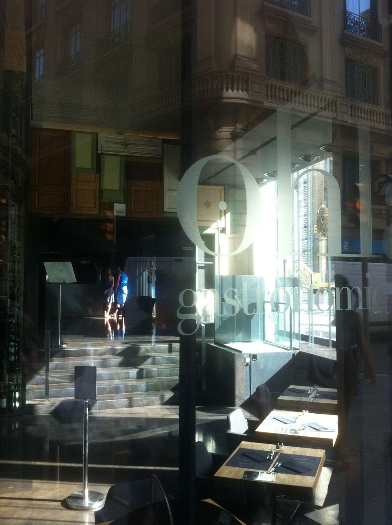 Reflection Streetphotography Cafe Window