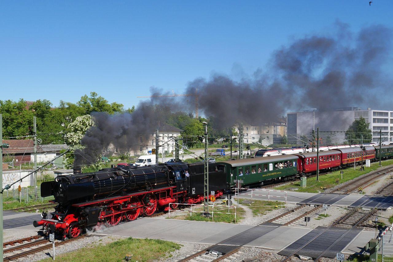 Transportation Smoke - Physical Structure Train - Vehicle Bodensee Steam Hostorical Kreuzlingen Red Black Traffic City Life Locomotive Steam Train Konstanz
