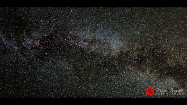 Night Sky Star Field