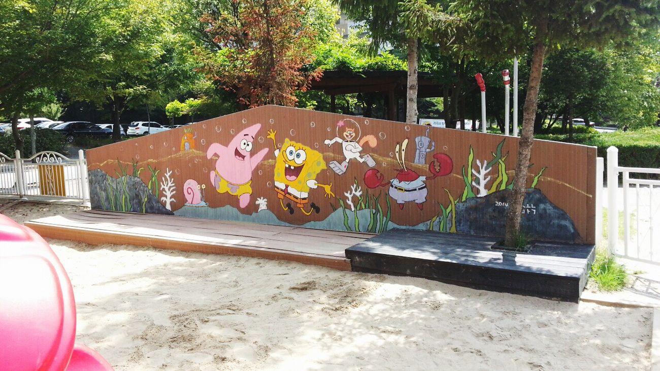Playgournd Ipone Spongebob