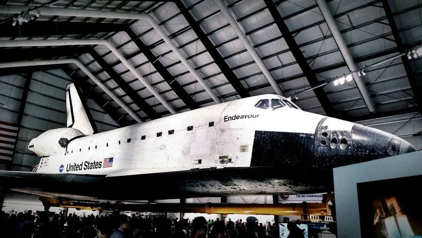 Endeavour Space Shuttle Space Museum