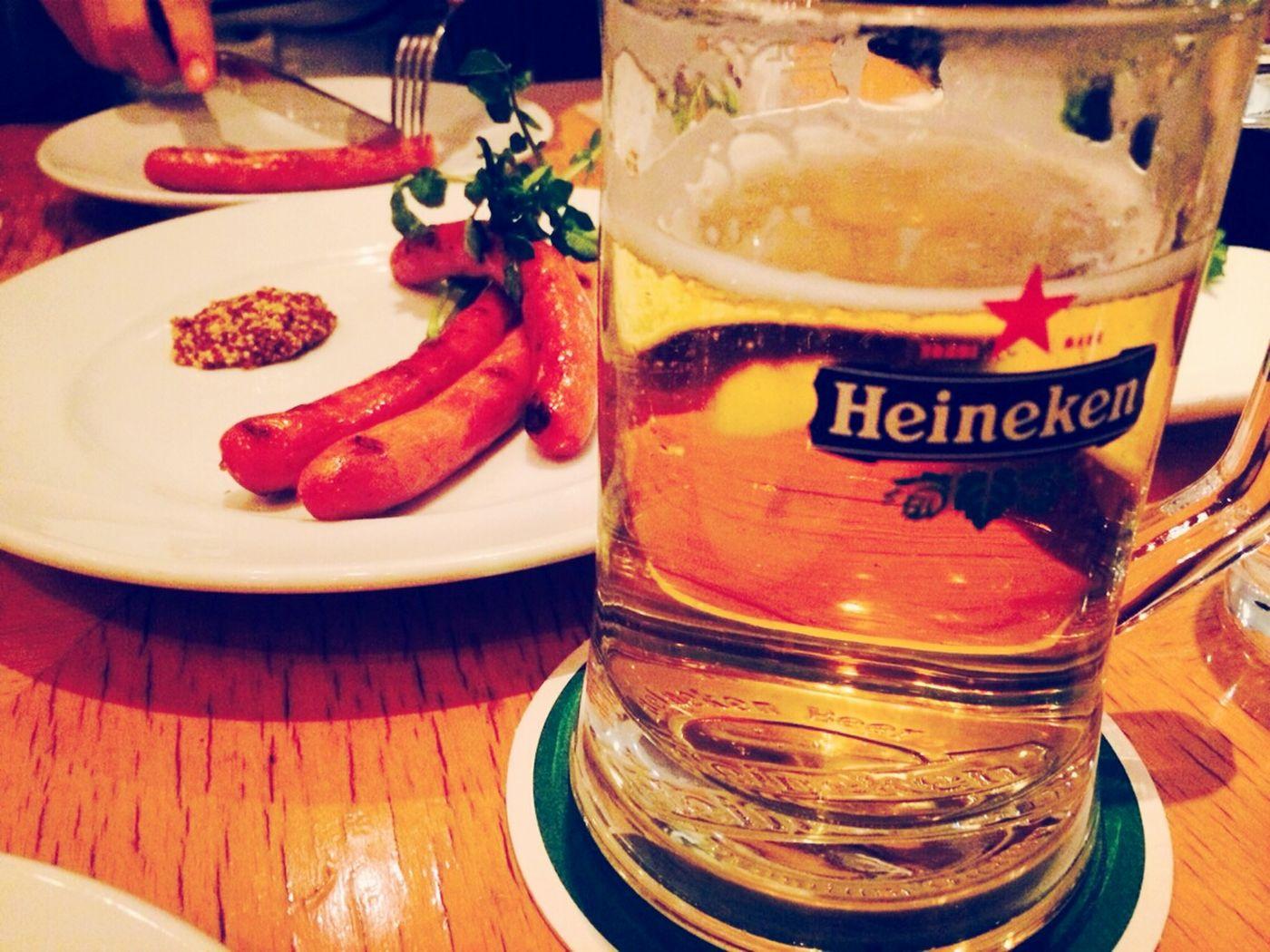 my first Heineken!!