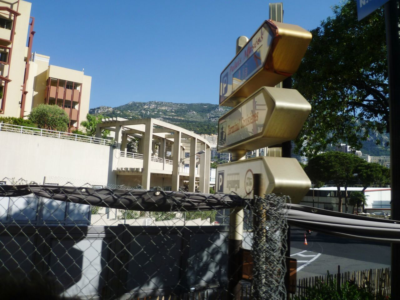 Monaco Monte Carlo Signs Building Summertime Architecture City No People Outdoors Day Tourist