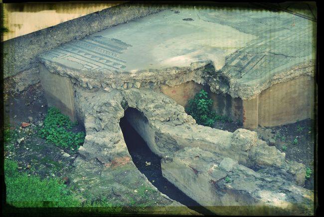 Roman Ruins Ventimiglia Provence Archeology