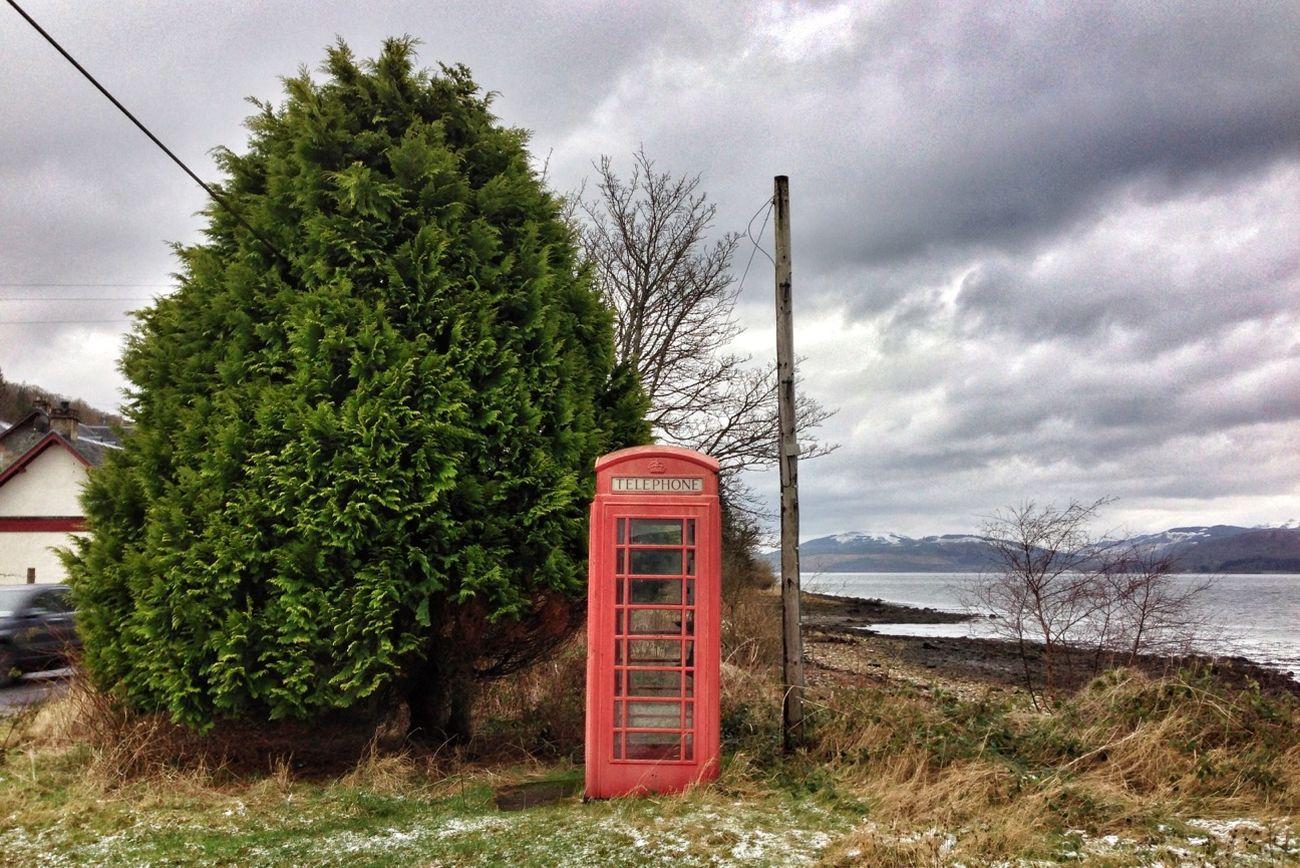 Scotland TheMinimals (less Edit Juxt Photography) Divelandscape Red Phone Boxes