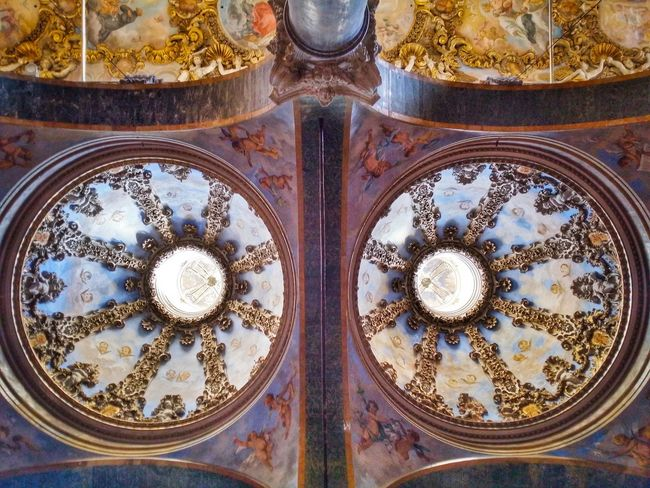 Chiesa Di San Giuseppe Dei Teatini Palermo Sicily Italy Travel Photography Travel Voyage Traveling Mobile Photography Fine Art Baroque Architecture Churches Decorated Vaults Extraordinary Decorations Magnificent Stunning Colours Original Experiences The OO Mission