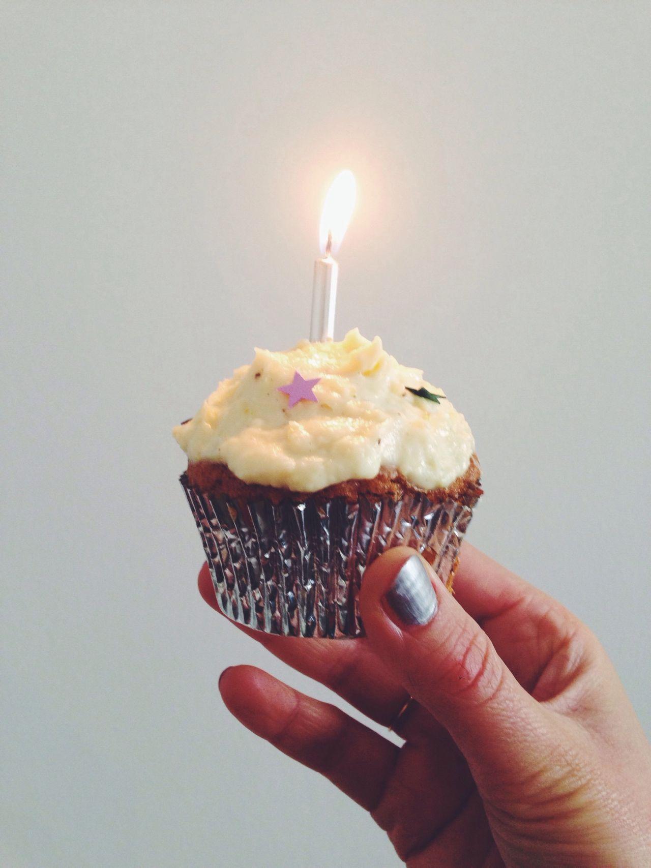 Beautiful stock photos of birthday, Berlin, Birthday, Candle, Cupcake