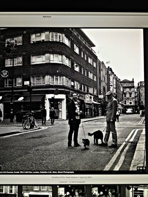 rolleiflex at Old Compton Street by Rupert