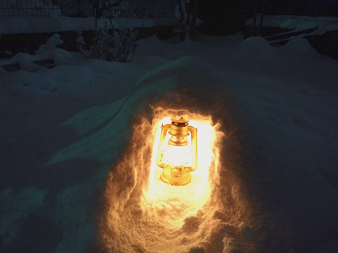 Snow Kamakura Lamp 雪 かまくら ランプ