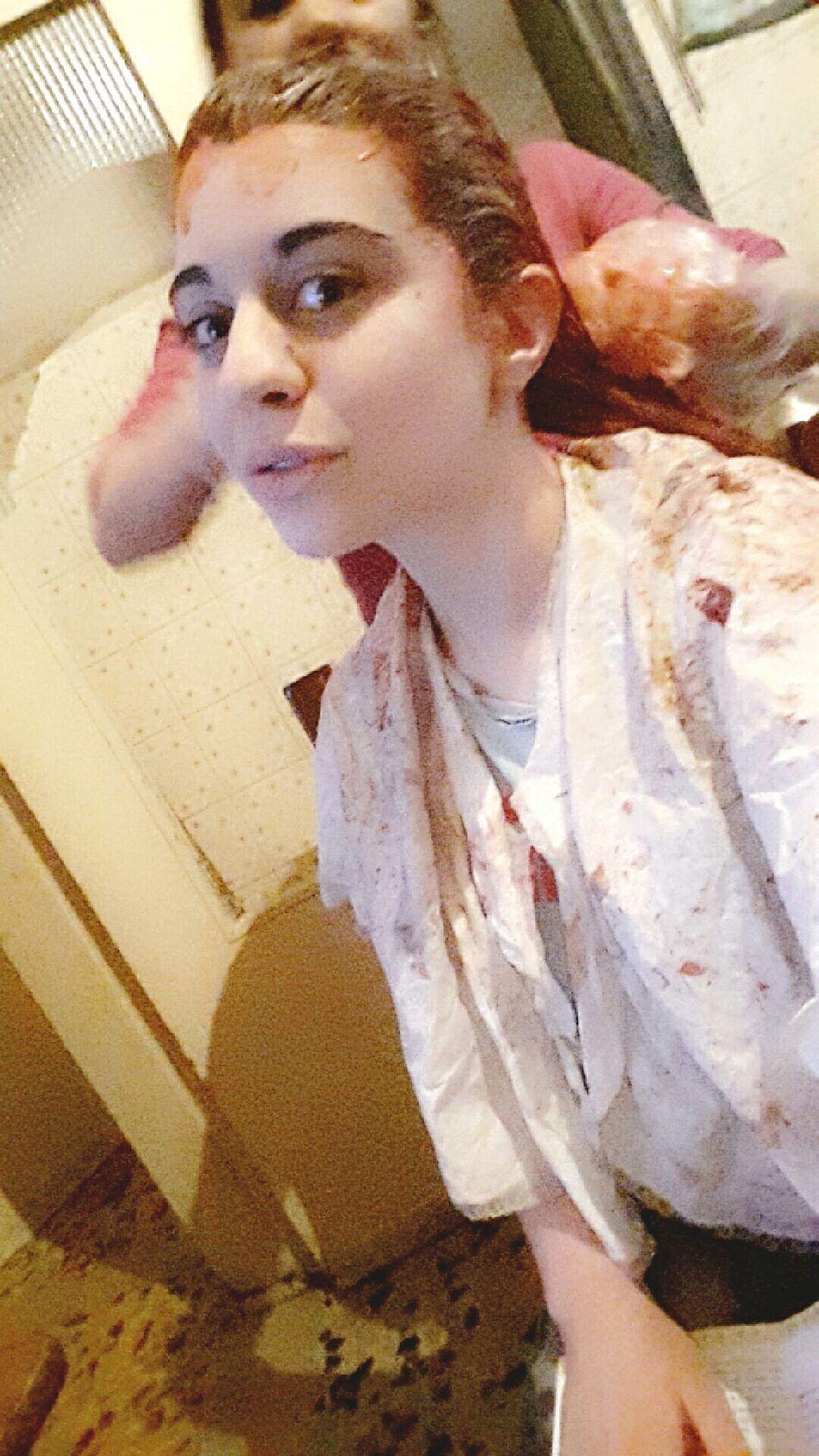Back At It Again Redhead Red Dye Hair Yee Finally