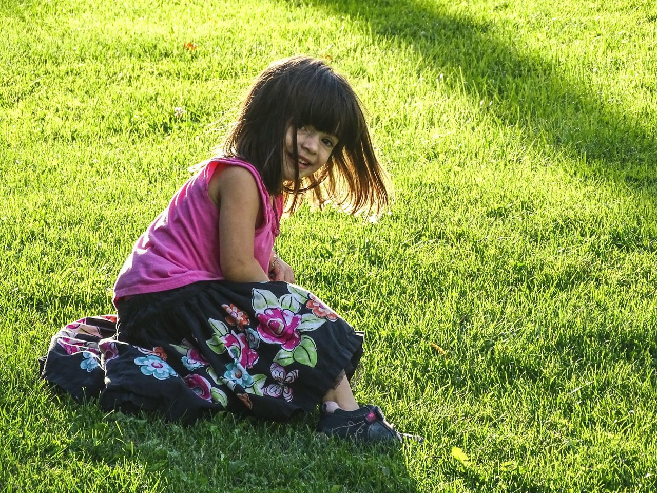 My Sweet Little Niece. Grass Field Green Color Casual Clothing Lifestyles Full Length Leisure Activity Grassy Relaxation Person Sitting Childhood Park - Man Made Space Day Innocence Young Adult Holding Outdoors Nature