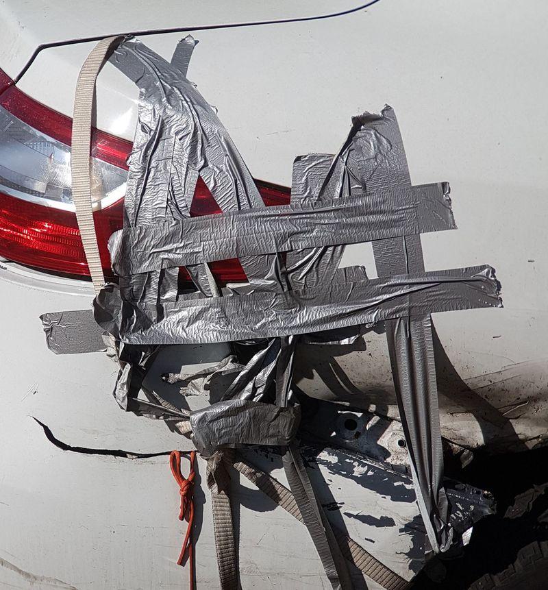 Accidents And Disasters Accident Car Accident Taped Car Car Garage Garage Car Repair Car Problems Repair Work