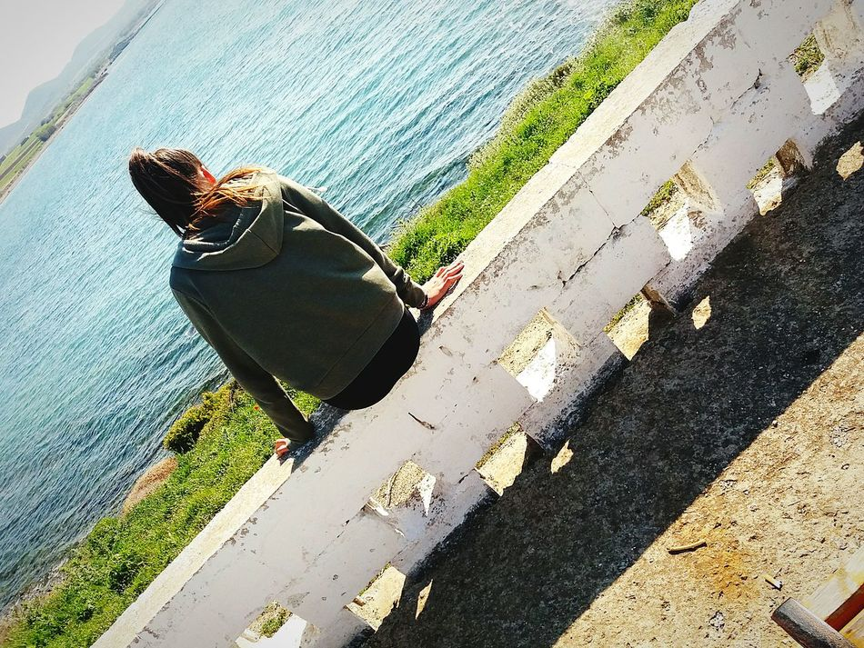 Sea Sky Love❤ Photography Green Color No People Greece Flowers