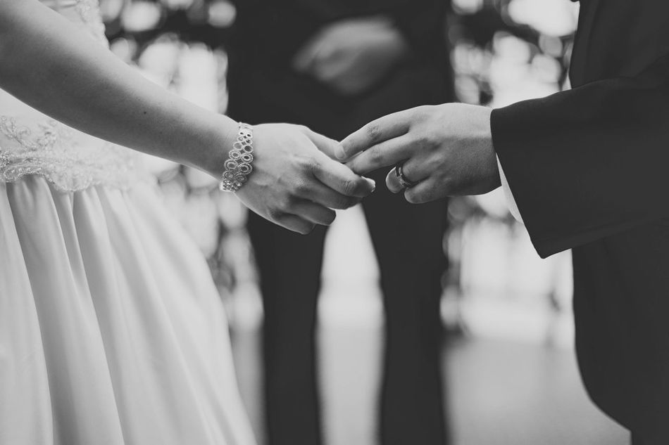 Wedding Bride Human Hand Wedding Ceremony Togetherness Human Body Part Adults Only Adult Two People Women Bridegroom Love Men Holding Hands Celebration People Married Wife Couple - Relationship Life Events Lasvegas Wedding Photography Photographerinlasvegas Evanscsmith Ring