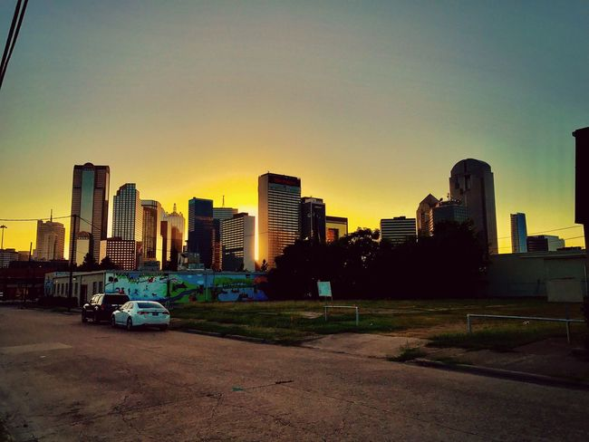 Architecture City Sunset Urban Skyline Dallasskyline City Skyline Dallas Texas Photography