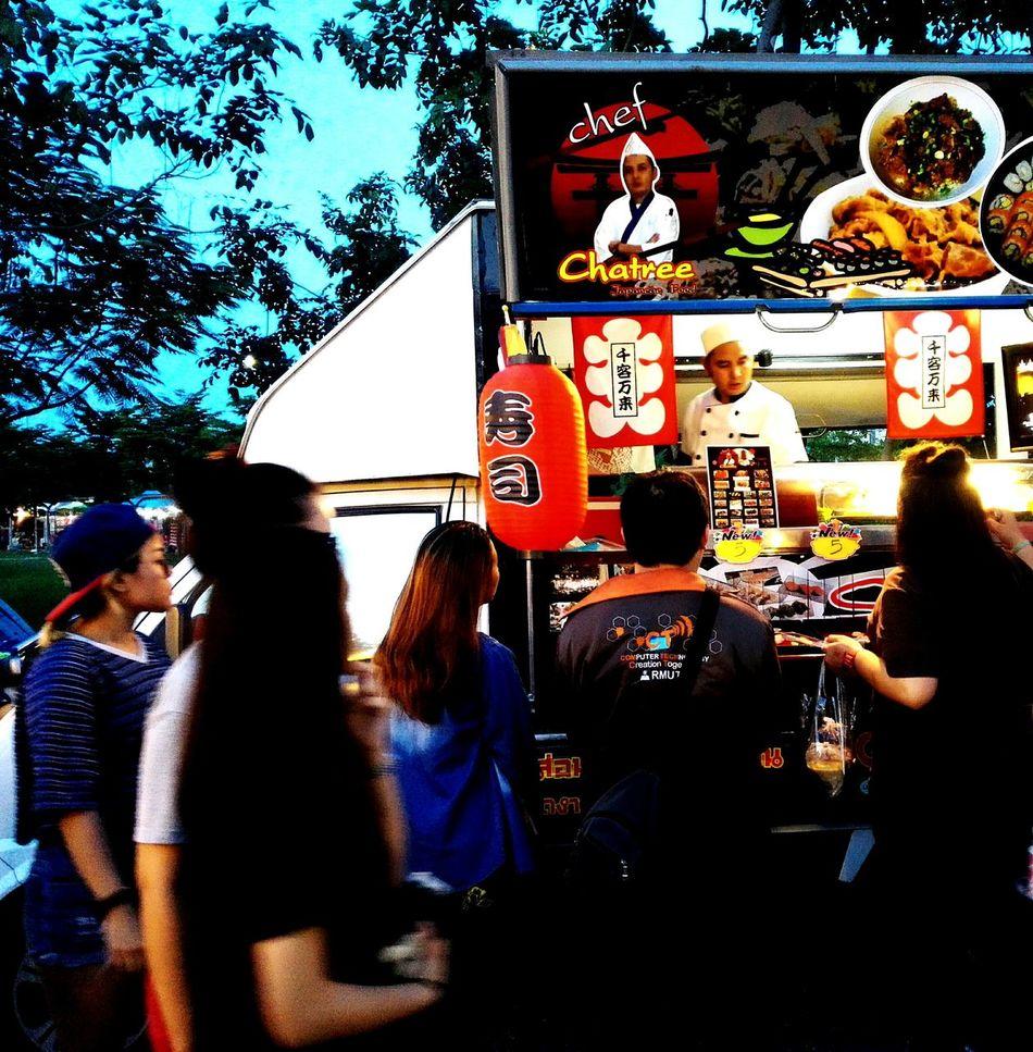 Sushi Sushi Bar Sushilover Food Truck Japanese Food
