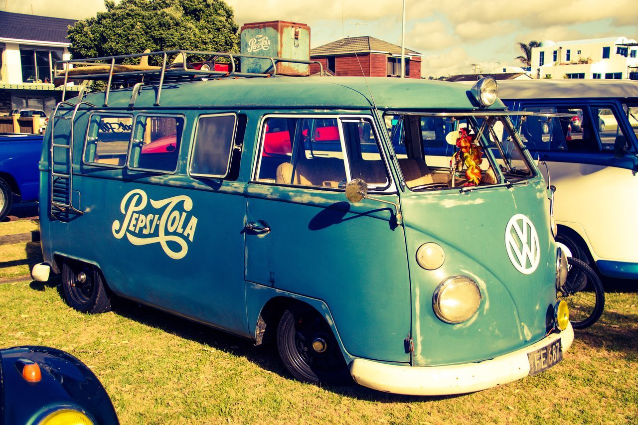 Old-fashioned Transportation Vintage Cars New Zealand Photography Exceptional Photographs EyeEm Gallery EyeEm Eye4photography  From My Point Of View Retro Styled Old-fashioned Hippie VW Sixities Roadtrip Beachbum