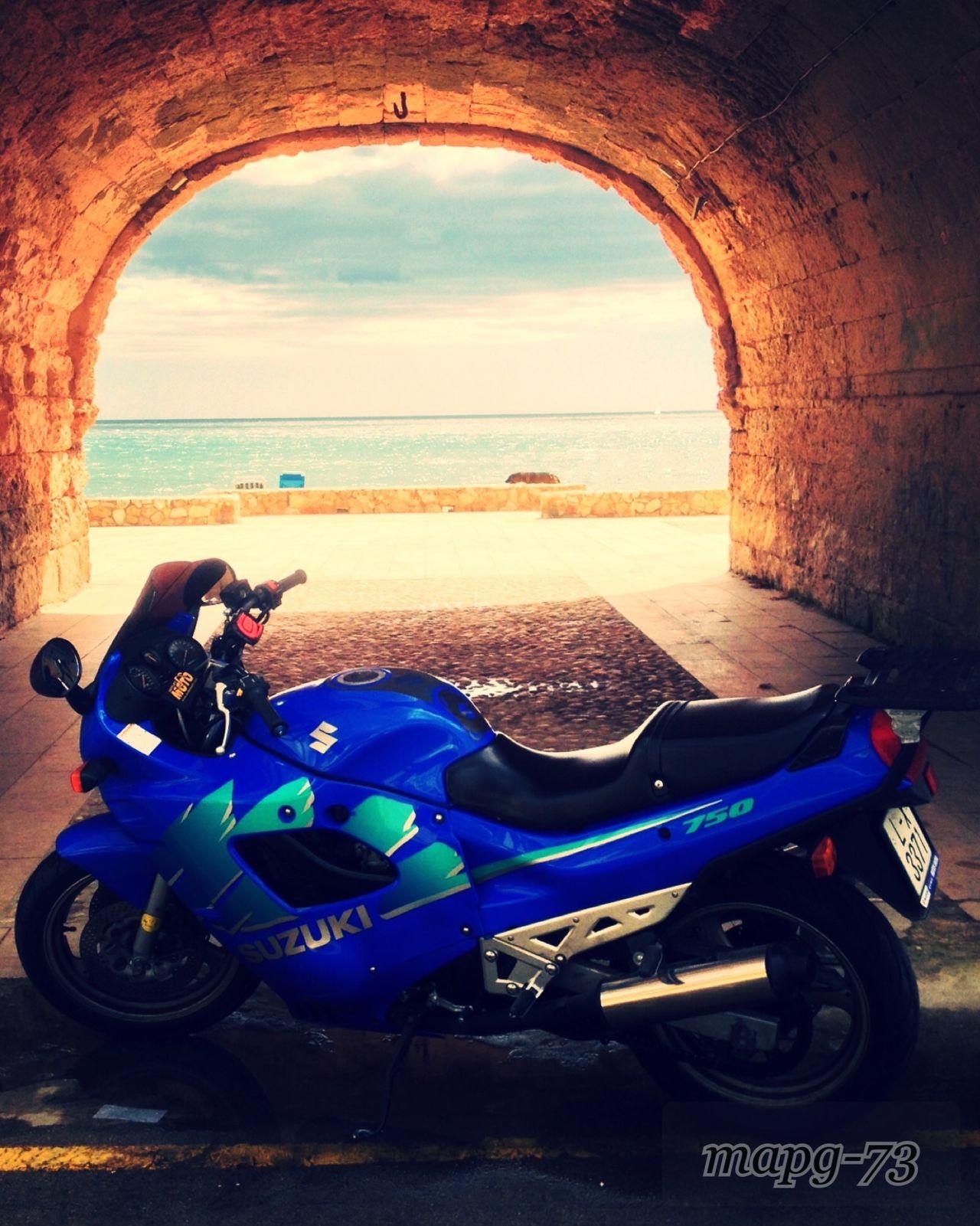 Taking A Motorcycle Tour Suzuki Riding My Motorcycle Spending Time Sea Horizon Over Water Taking Photos GSXF-750 Gsx Gsxf
